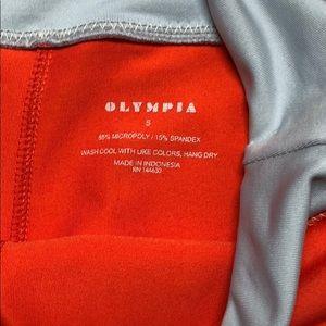 Olympia Activewear Pants - Olympia Activewear Orange pants sz S NWOT